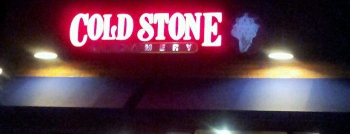 Cold Stone Creamery is one of Favorite Eating and Drinking Places.