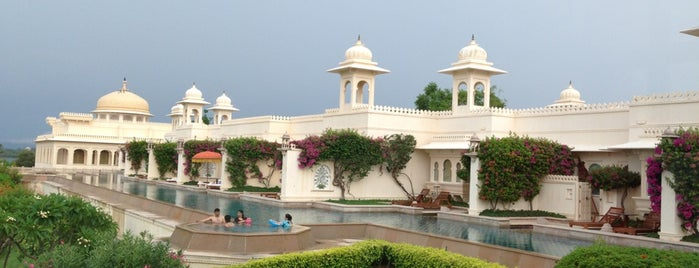 The Oberoi Udaivilas is one of Condé Nast Traveler Platinum Circle 2013.