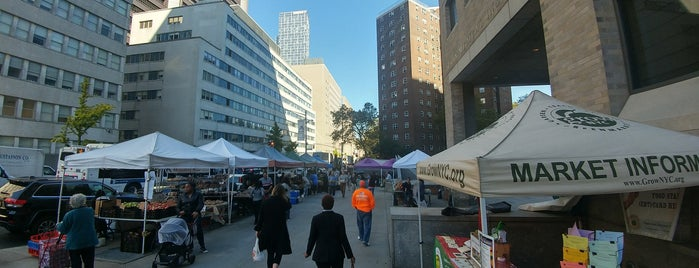 Mt. Sinai Hospital Greenmarket is one of NYC Health: NYC Farmers' Markets.