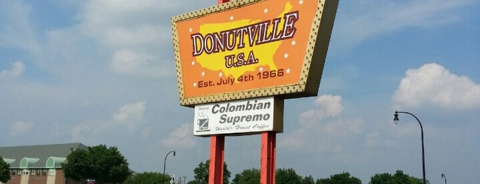 Donutville USA is one of In the Boring Burbs.