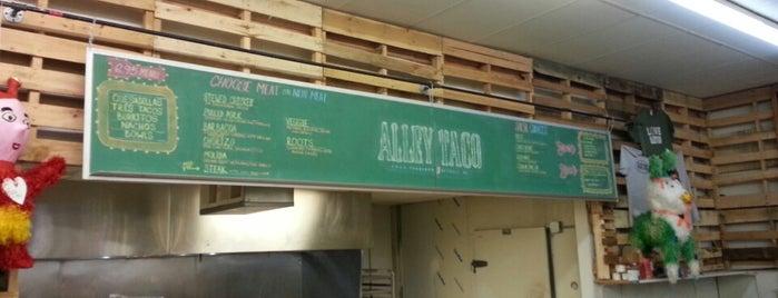 Alley Taco is one of Lieux qui ont plu à Josh.