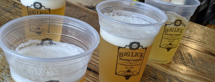 Big Lick Brewing Company is one of breweries.