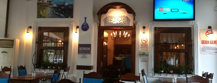 Bodrum Mantı&Cafe is one of İkra's.