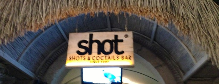 Alaçatı Shot Bar is one of themaraton.