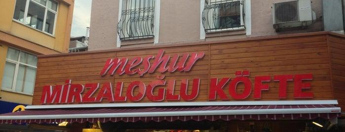 Mirzaloğlu Köfte is one of สถานที่ที่ Omer ถูกใจ.