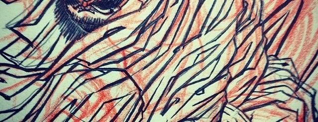 Primordial Pain Tattoo is one of สถานที่ที่บันทึกไว้ของ Horimitsu.