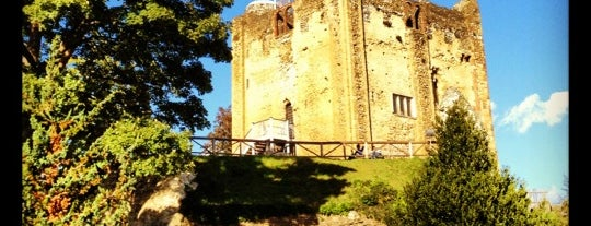 Guildford Castle is one of Lieux qui ont plu à Will.