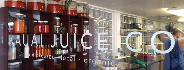 Kauai Juice Co is one of Juice Places So Rad You'll Forget They're Healthy.