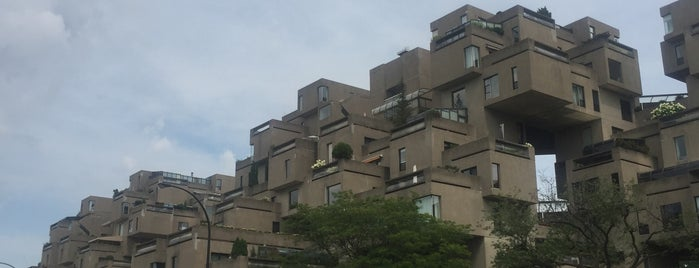 Habitat 67 is one of Montreal 2018.
