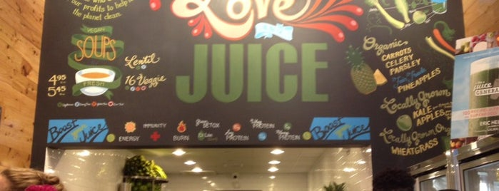 Juice Generation is one of New Office Lunch Spots.