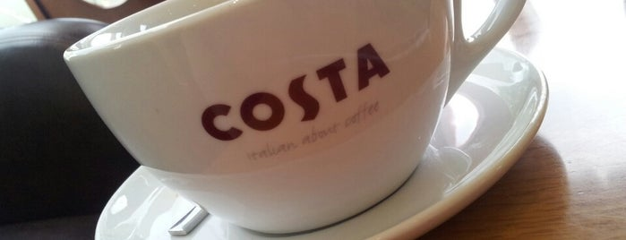 Costa Coffee is one of All-time favorites in Lebanon.