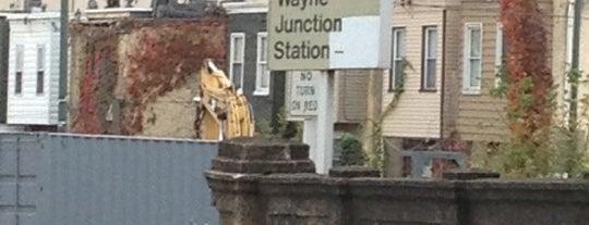 SEPTA Wayne Junction Station is one of Orte, die Sandy gefallen.