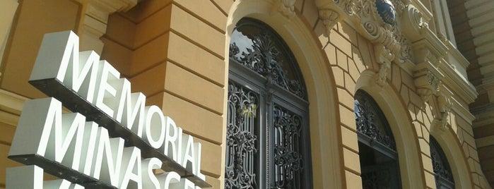 Memorial Minas Gerais Vale is one of Viagem - Belo Horizonte.