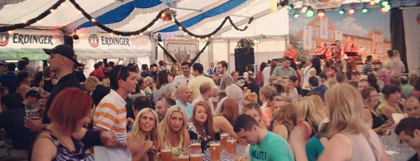Oktoberfest is one of The Ultimate Guide to Dublin.