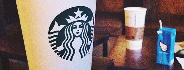 Starbucks is one of M. 님이 좋아한 장소.