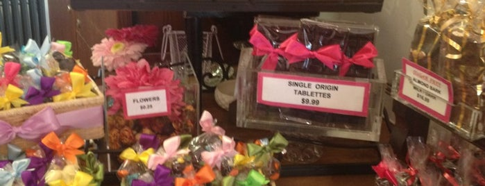 Martine's Chocolates Too is one of Locals to support.