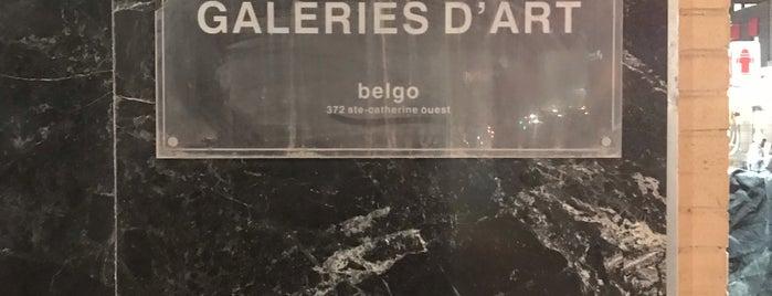 Galerie d'Art Contemporain Belgo is one of Montreal galleries.