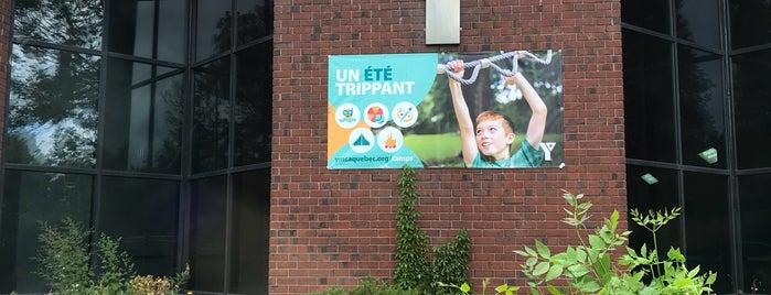 YMCA Westmount is one of Lieux qui ont plu à Andrea.