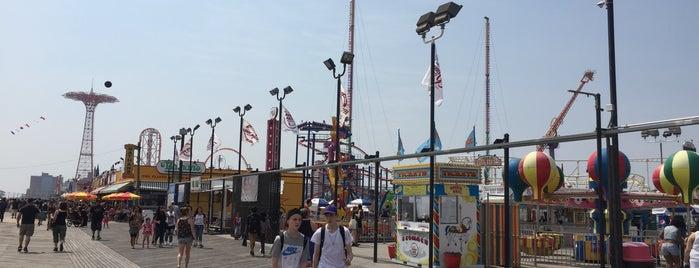 Coney Island Beach & Boardwalk is one of New York.