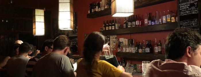 Nihonshu Sake Bar is one of Lieux sauvegardés par Christopher.