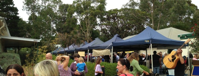 Margaret River Farmers Market is one of Jas' favorite urban sites.