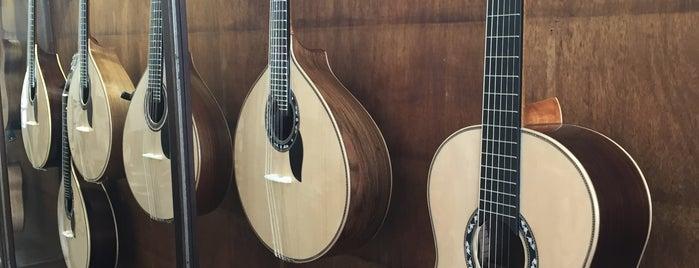 Casa da Guitarra is one of Izzy's Portugal.