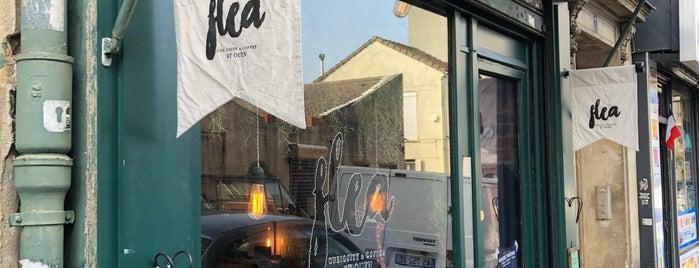 Flea - curiosity & coffee is one of Paris.