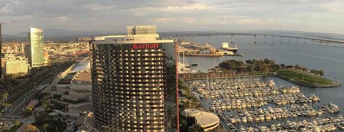 Manchester Grand Hyatt San Diego is one of Lieux qui ont plu à Ben.