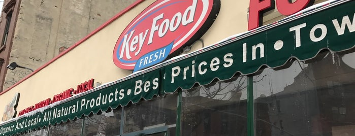 Key Food Market is one of Clinton Hill.