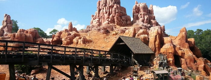 Frontierland is one of Top Orlando spots.