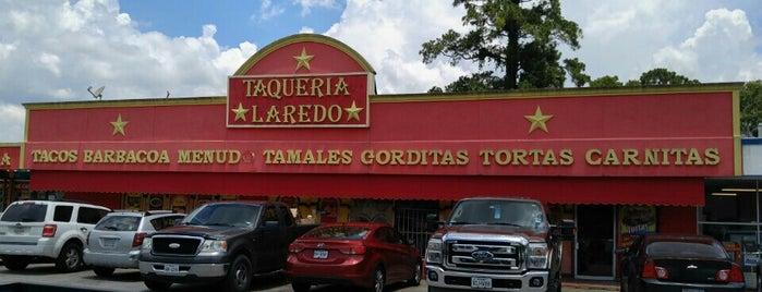 Taqueria Laredo is one of Alison Cook's Top 100 Restaurants (2013).