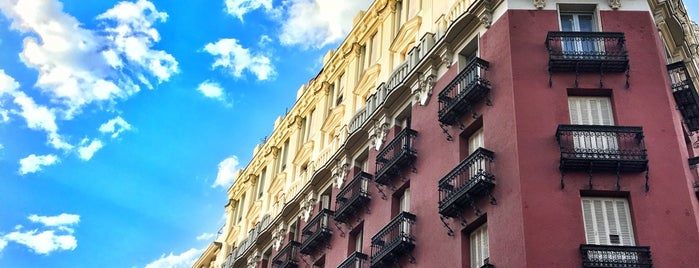 Calle Luchana is one of Madrid.
