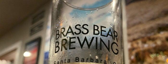 Brass Bear Brewing & Bistro is one of Santa Barbara.