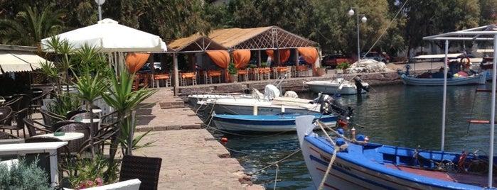 Panagiouda Harbor is one of Gökçen'in Kaydettiği Mekanlar.