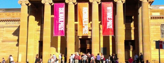 Art Gallery of New South Wales is one of Australia.