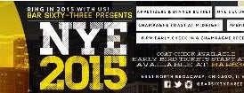 Bar 63 is one of Chicago New Years Eve 2015.