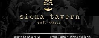 Siena Tavern is one of Chicago New Years Eve 2015.