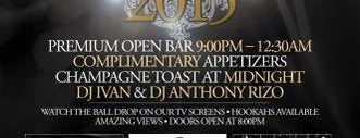 Sunset Lounge is one of New York New Years Eve 2015.