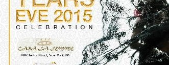 Casa La Femme is one of New York New Years Eve 2015.