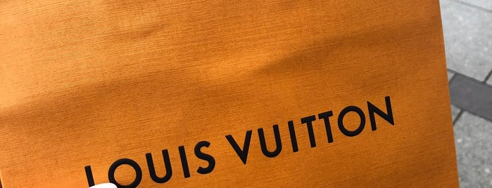 Louis Vuitton is one of Tempat yang Disukai Taisiya.