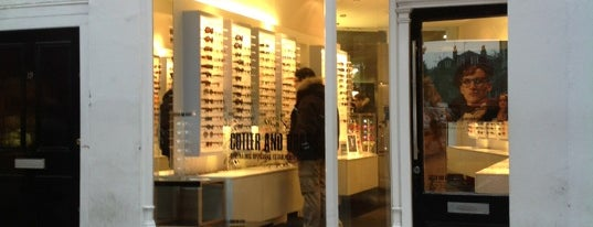 Cutler & Gross is one of London shopping..