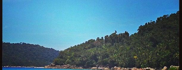 Pulau Perhentian Kecil (Small Perhentian) is one of Gespeicherte Orte von 🌸thewallflower🌸.