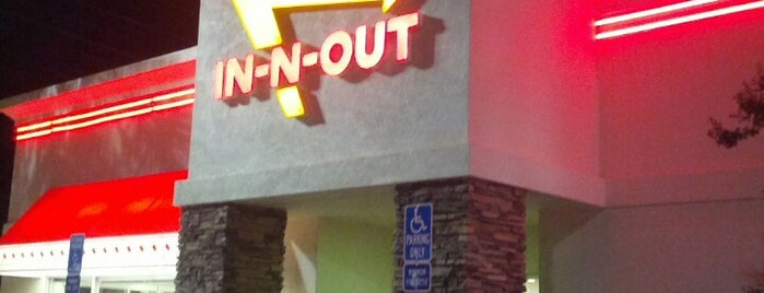 In-N-Out Burger is one of LA new.