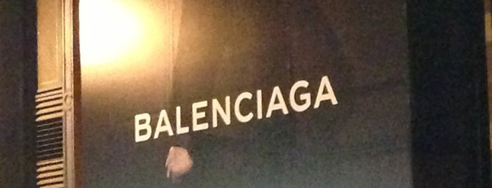 Balenciaga is one of Best Single-Designer Boutiques.
