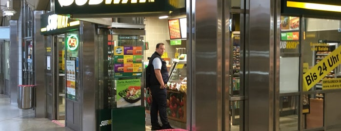 SUBWAY is one of Essen gehen.