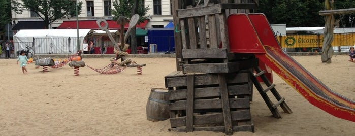 Spielplatz Kolle is one of Playgrounds in Berlin.