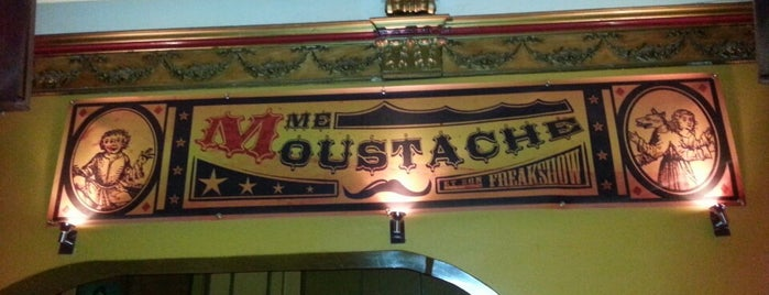 Madame Moustache is one of Bruxelles.