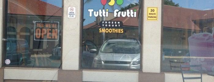 Tutti Frutti is one of สถานที่ที่บันทึกไว้ของ Ayngelina.