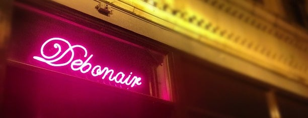 Debonair Social Club is one of United Mileage Plus Dining Spots.