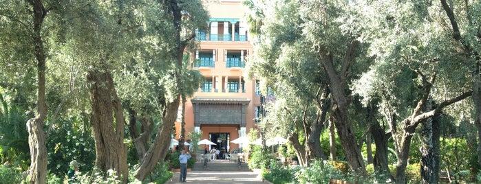 La Mamounia is one of Morocco.